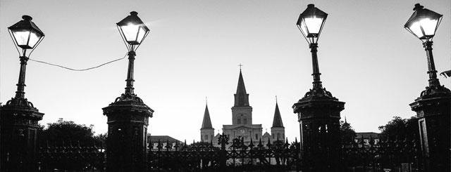 Saint Louis Cathedral, New Orleans, LA.